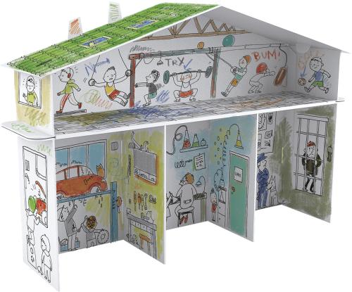 12e4371ec3649 Domek tylko dla chłopaków Lawart.pl